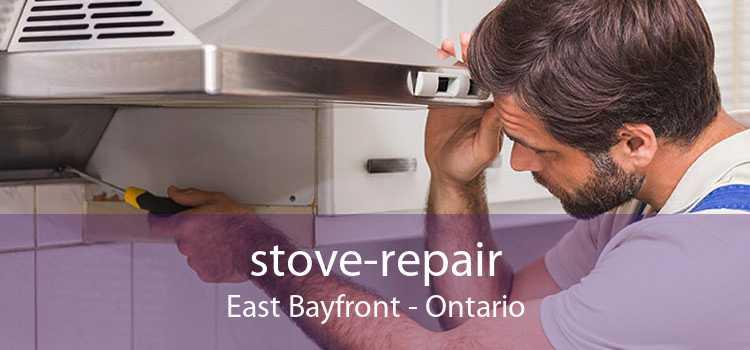 stove-repair East Bayfront - Ontario