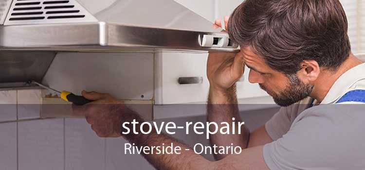 stove-repair Riverside - Ontario