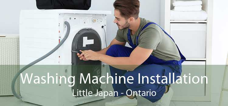 Washing Machine Installation Little Japan - Ontario