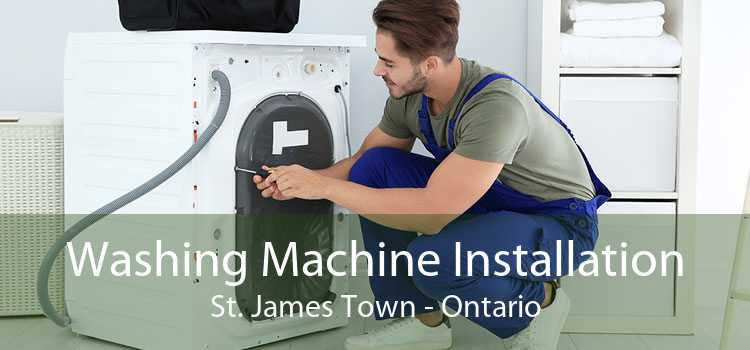 Washing Machine Installation St. James Town - Ontario