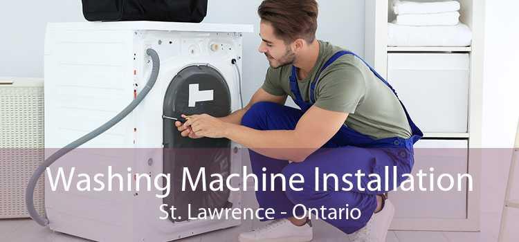 Washing Machine Installation St. Lawrence - Ontario