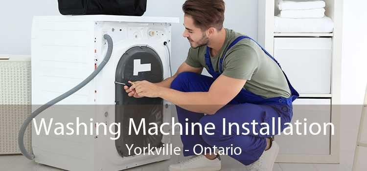 Washing Machine Installation Yorkville - Ontario