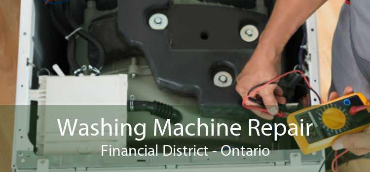 Washing Machine Repair Financial District - Ontario